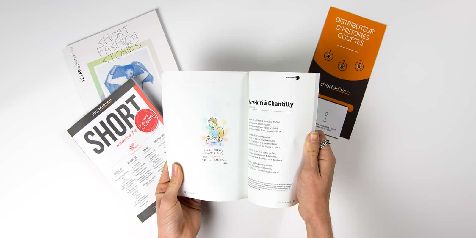 Short Edition Livre Faire part