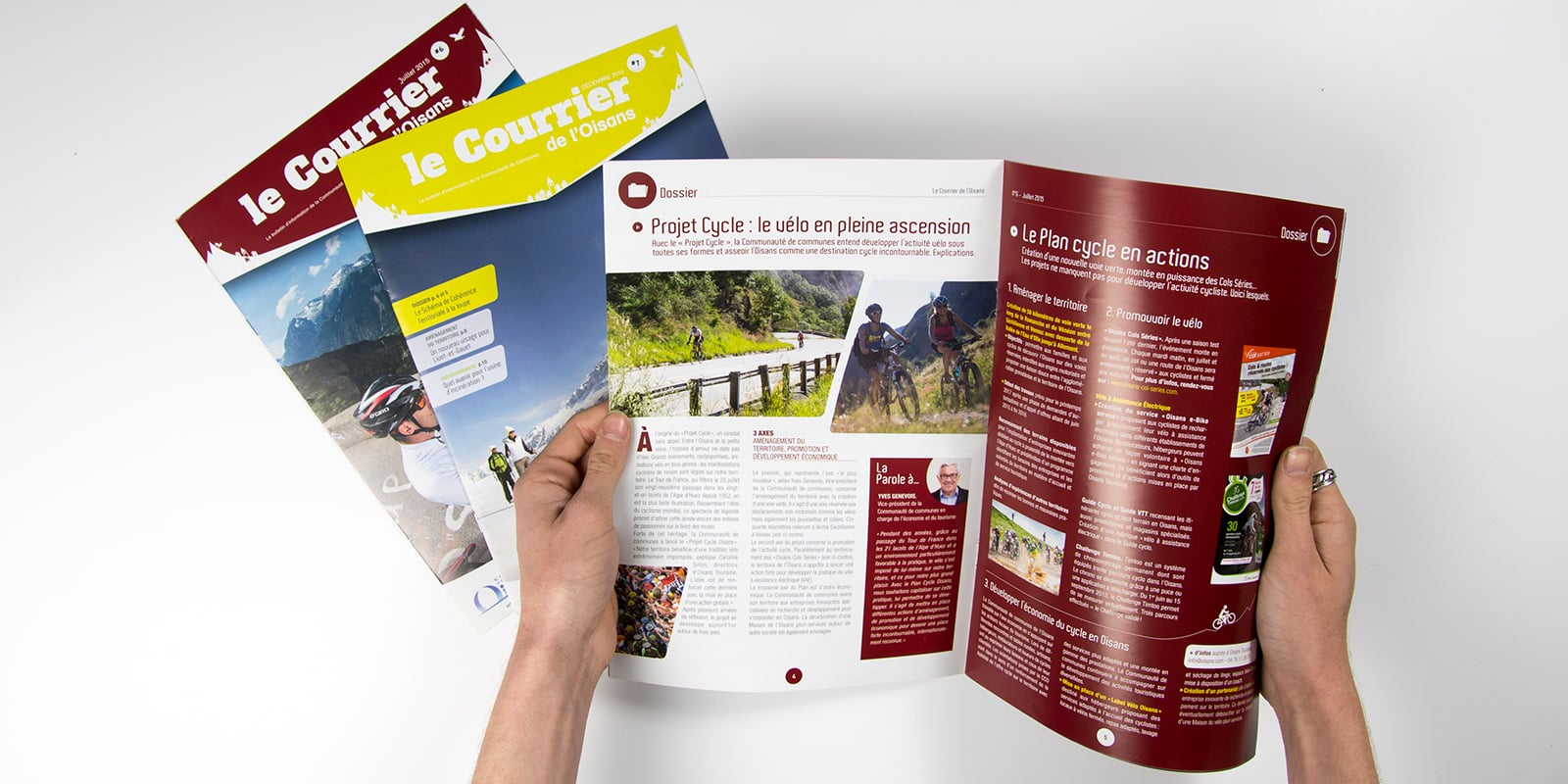 Magazine Courrier de l'Oisans